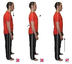 Good Posture Means Good Health.  May is good posture month.  Take some time to be aware of your posture.
