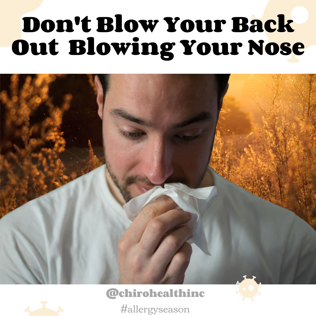 Allergies and Back Pain